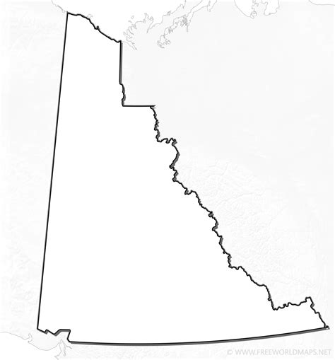 printable map of yukon yukon maps