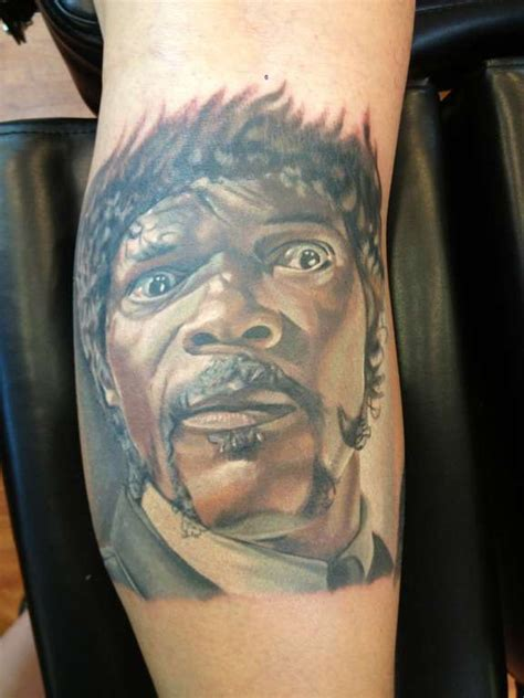 pulp fiction tattoo christacakes samuel l jackson as jules from pulp fiction