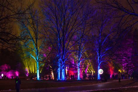 worth the trip illumination at the morton arboretum