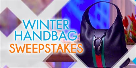 The View Sweepstakes 2017 - the view s winter handbag sweepstakes freebie mom