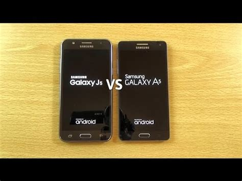 Samsung A3 Vs J2 samsung galaxy j5 vs galaxy a5 speed test
