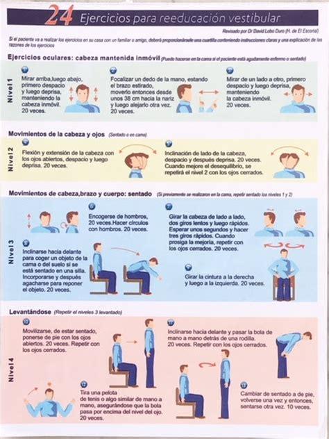rehabilitacion vestibular ejercicios v 233 rtigo recuperar el equilibrio con ejercicios de