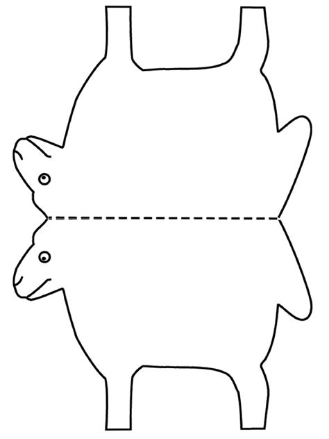 printable sheep template sheep outline for www pixshark images