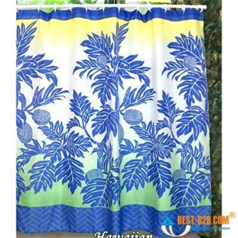 hawaiian print shower curtains 17 best images about shower curtains on pinterest palm
