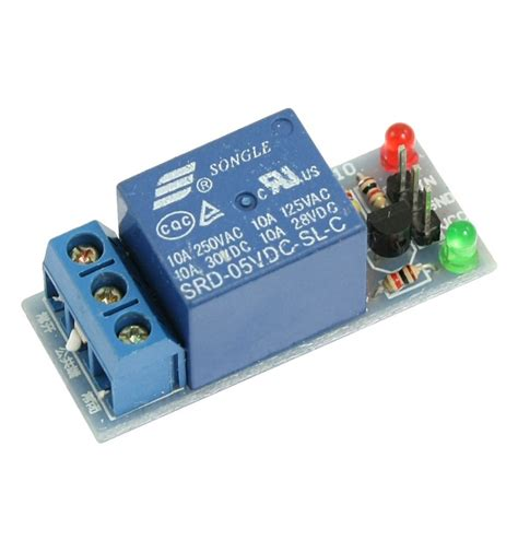 Lc Relay 1 Channel 5v Volt Dc Output 25 Kode Fd10316 1 relay module 5v arduino compatible 1 channel