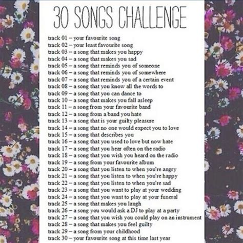 8tracks radio 30 day song challenge 25 songs free 8tracks radio 30 songs challenge 29 songs free and
