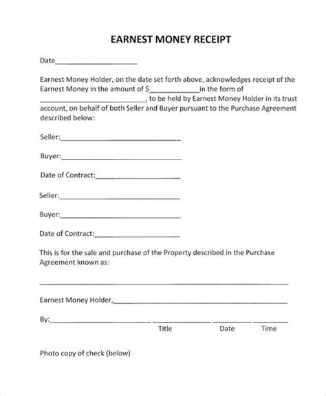 money receipt template blank 41 sle receipts sle templates