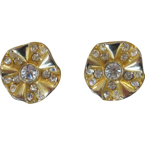givenchy vintage earrings from runwayvintage on ruby