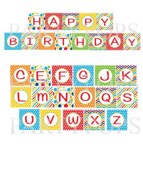 free printable happy birthday banner letters 8 best images of birthday printable banner letters free