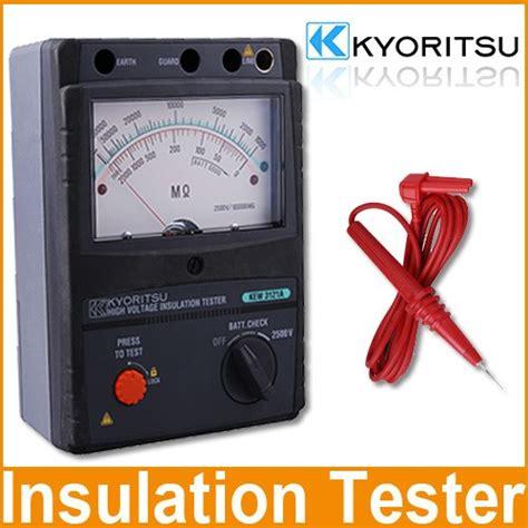 Insulation Tester Kyoritsu 3128 High Voltage Insulation Tester kyoritsu 3121a insulation tester