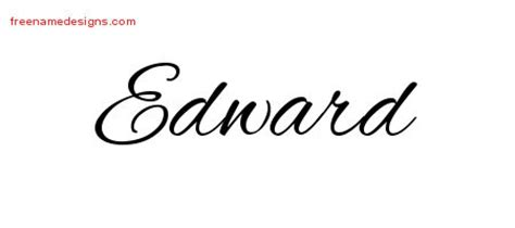 tattoo name edward edward archives free name designs