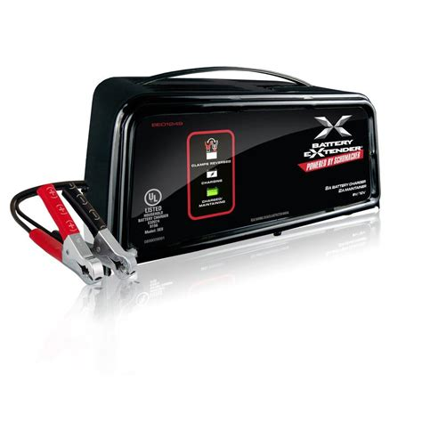 schumacher 6 volt or 12 volt 8 battery charger