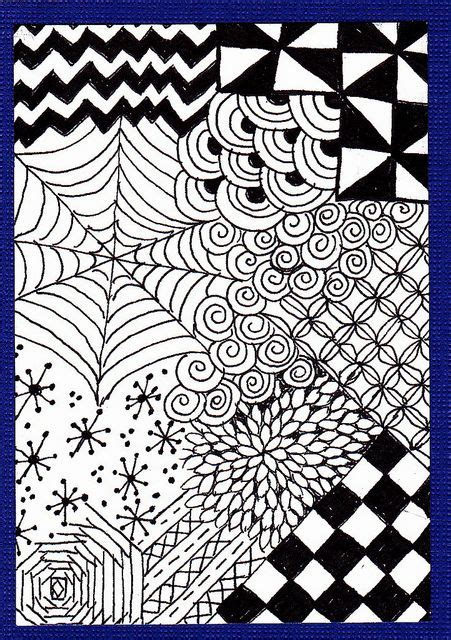 zentangle pattern for beginners pinterest the world s catalog of ideas