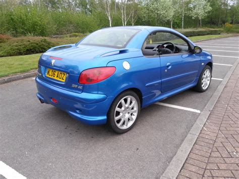 peugeot 206 cabriolet electric hardtop leather