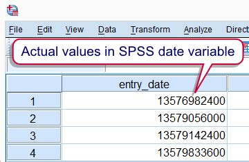 spss tutorial basic spss date variables quick introduction