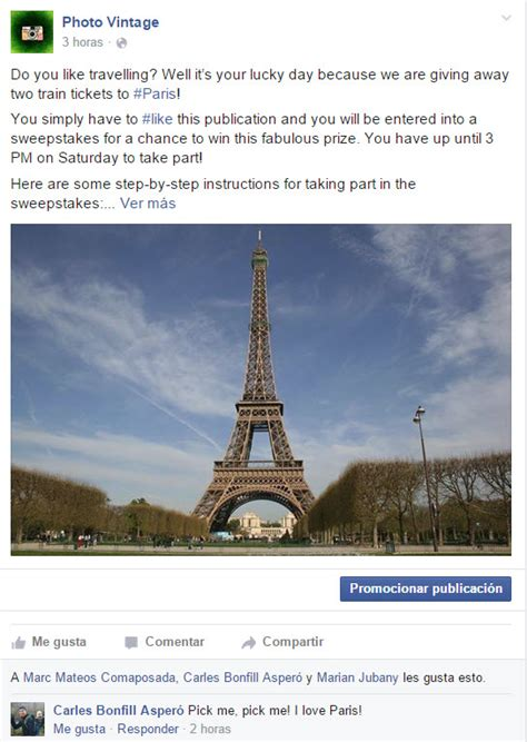 How To Do Sweepstakes On Facebook - how to write a post to launch a sweepstakes on facebook