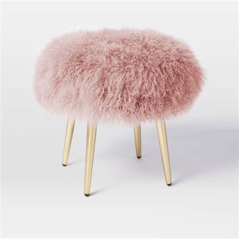 Fluffy Stool by 1000 Ideas About Light Pink Bedrooms On