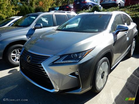 silver lexus 2017 atomic silver lexus rx 350 awd 116267547 photo 2