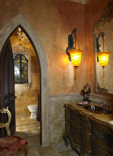 Southwest Bathroom Decorating Ideas Old World Bathroom By Tampa Home Builders Alvarez Homes