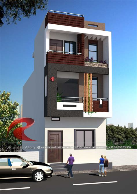 narrow home designs 3d narrow house designs gallery rc visualization