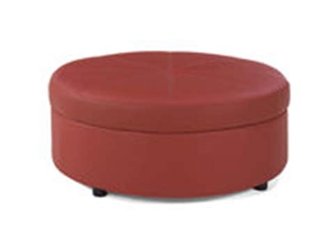 round red leather ottoman afr furniture rental furniture rental for events office