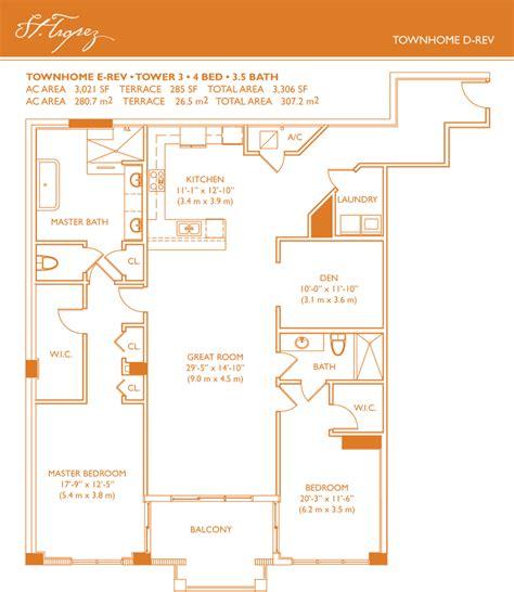 St Tropez Townhome Floorplans | st tropez townhome floorplans