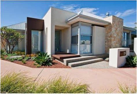 desain rumah atap datar 5 gambar desain eksterior rumah minimalis modern