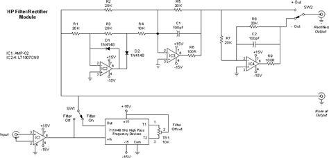 h48 diode circuit rectifier filter module