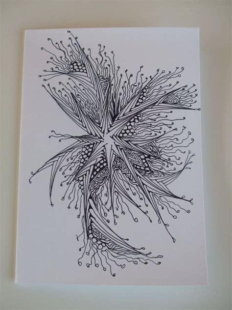 printable zentangle cards handcrafted zentangle zendoodle blank greeting card