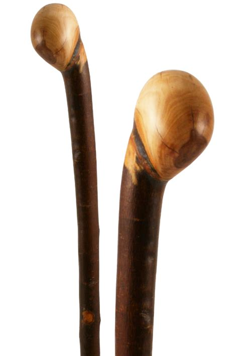 applewood coppice knob stick length 92cm the stick