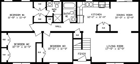 raised ranch addition plans ranch floor plans remodel