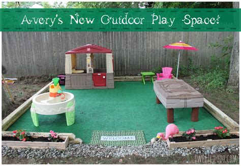 diy backyard toys diy outdoor play space avery s place sweet lil you