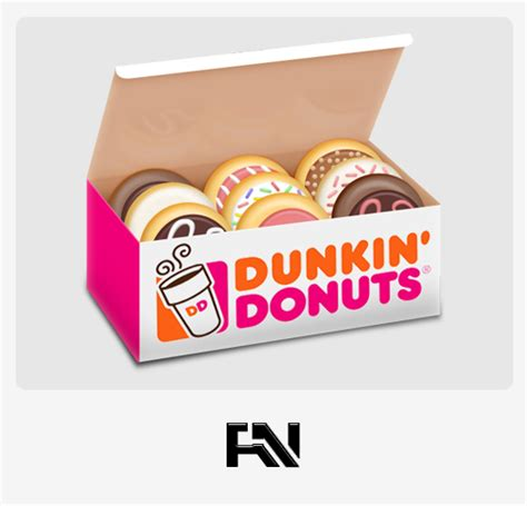 Box Of 10 Dunkin Donuts Donut Box By Soundy On Deviantart