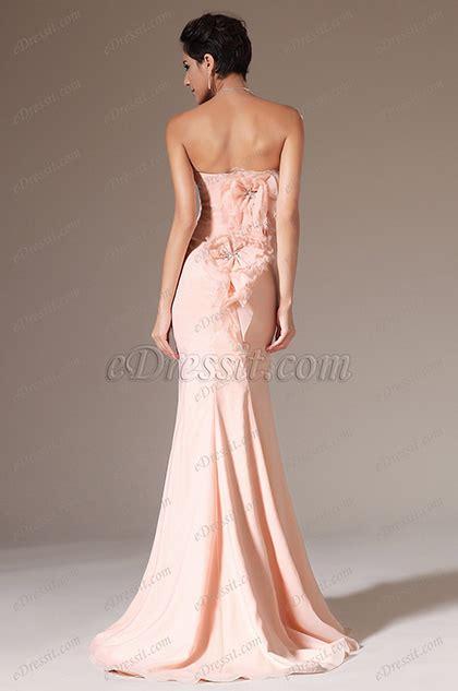 edressit green halter mermaid evening dress prom ball gown edressit pink strapless mermaid prom ball gown 02144501