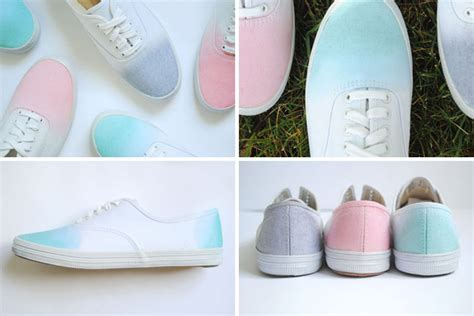 ombre shoes diy 33 stylish diy shoe hacks brit co