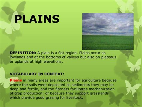Landscape Description Definition Geographical Features
