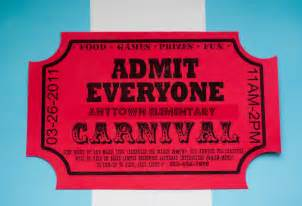 carnival ticket template carnival advertising and other craziness my insanity