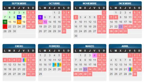 Calendario Escolar Aragon Primaria Calendario Escolar De Arag 243 N En El Curso 2016 2017