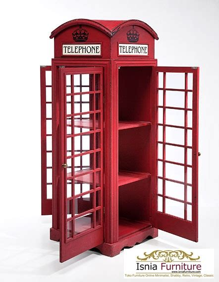 Lemari Telepon Inggris lemari telephone inggris murah lemari hias