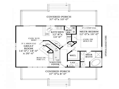 Lakeview House Plans by Lake Home Plans With Basement Lakeview House Plan