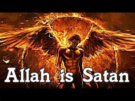 illuminati vs islam proof allah is satan from the words of muhammad