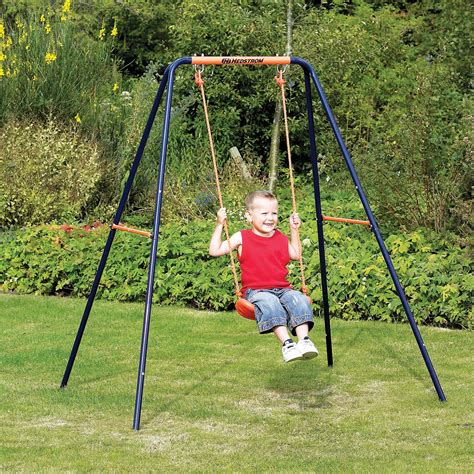 swing by to hedstrom single swing kiddicare com
