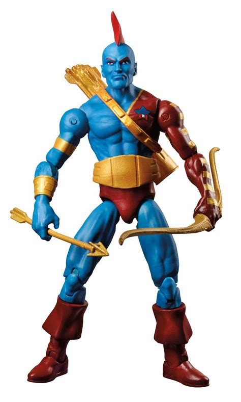 Marvel Legends Series 3 75in Yondu hasbro s marvel legends 6 inch and 3 3 4 inch nycc reveals sci fi page