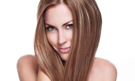 groupon haircut and dye haircut or color services wild hare salon spa groupon