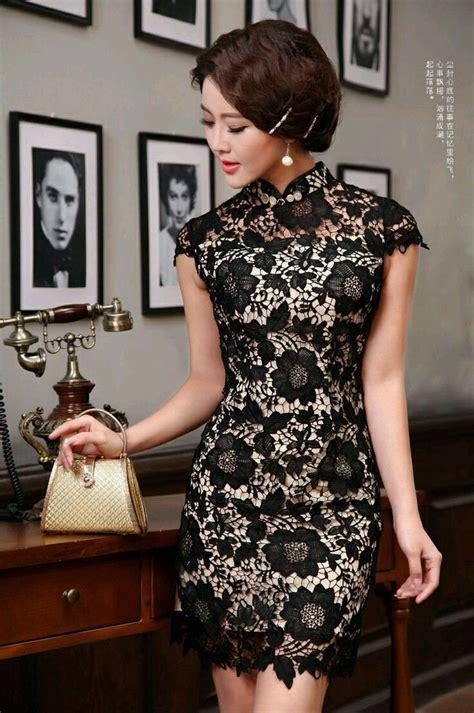 Dress Cheongsam Modern Batik Cheongsam Dress Shanghai Dress modern dress asian cultural modern theme