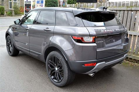wrapped range rover evoque range rover evoque waitomo grey with roof wrap