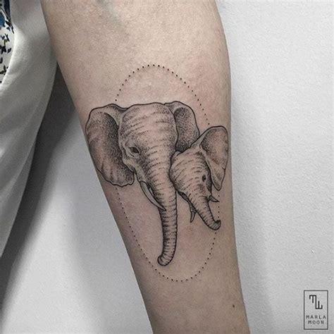 elephant tattoo portrait best 25 elephant family tattoo ideas on pinterest