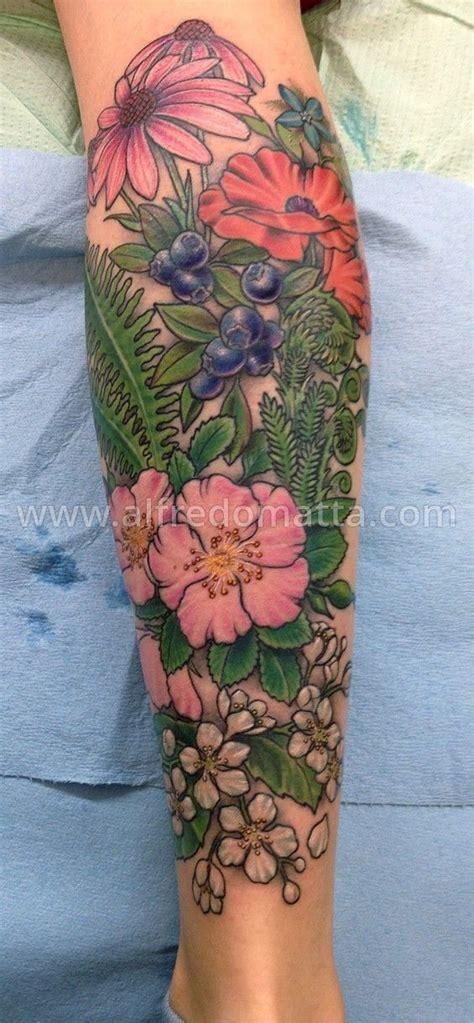 flower garden tattoos herbs szukaj w herb