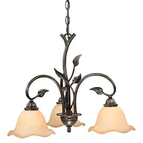 three light chandelier downlight rustic chandeliers vine downlight chandelier with 3