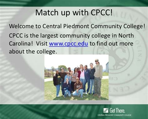 Cpcc Academic Calendar Cpcc Career And College Promise Orientation